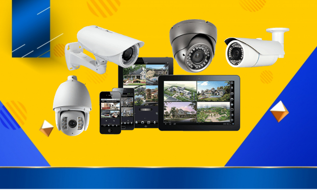 توصيل نظام كاميرات المراقبة