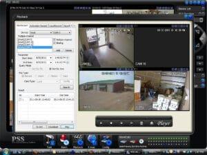 توصيل DVR بشاشة عرض